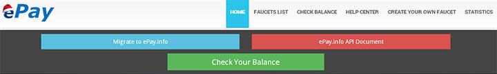 epay - сервис микротранзакция для биткоин кранов
