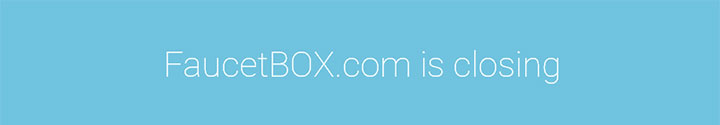 Почему закрылся FaucetBox