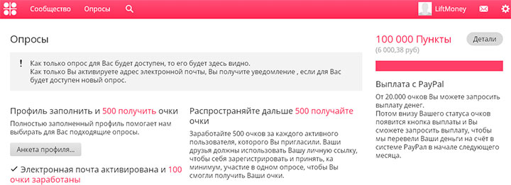 myiyo - сайт опросов