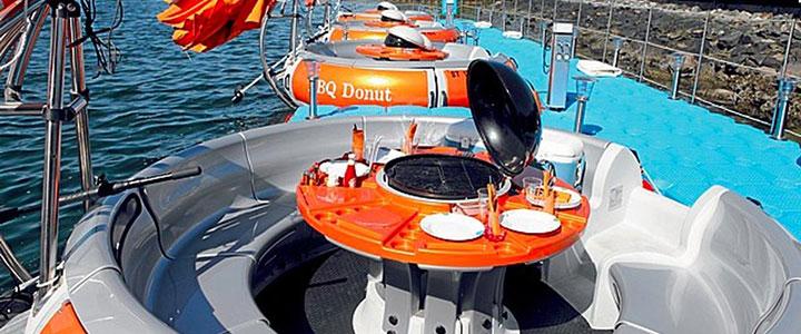 Лодка-барбекю на прокат как бизнес идея на лето 2017